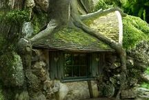 TREE HOUSES MAGICAL SPACES. / Very cool Tree houses