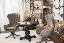 Showroom vignette's / Showroom vignette's shown in Uttermost's High Point, NC showroom.