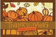 Thanksgiving Cards / Say thanks to family and friends, near and far, with a personalized card from Treat.com.