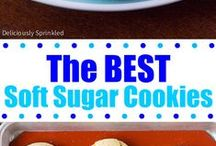 CHRISTMAS COOKIES (NOT JUST FOR SANTA AND MORE!! / CHRISTMAS COOKIES AND OTHER COOKIES. TO TEMPT YOU. I REMEMBER WE WOULD ALL GET TOGETHER AND BAKE COOKIES ALL DAY TO GIVE TO NEIGHBORS AND SUCH. kIDS, GRANDMAW'S, MOM'S. WOULD ALL BAKE COOKIES. tHOSE WERE THE DAYS....
