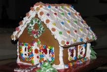 GINGERBREAD HOUSE LAND / Gingerbread Houses, beyond your wildest imagination. Not You Grandmothers Ginger Bred House.