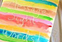 Word Work/Letters / by Brooke Fletcher