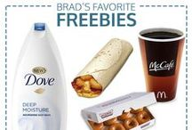 Favorite Freebies / Our weekly roundup of free food, samples, and more! #bradsdeals #free / by Brad's Deals
