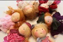Waldorf & Cloth Dolls / A Collection of the most unique and beautiful waldorf and cloth dolls from all over the world....