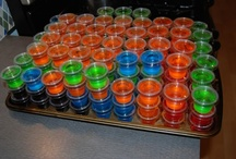 Am I ever Thirsty!!!! / Alcoholic and Non Alcoholic Drinks and Jello Shots  Woohoo / by Teressa McGuire