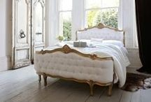 Beautiful Beds / The bedroom should be a personal haven of relaxation, tranquility and comfort, which is why we at Sweetpea and Willow scrupulously select and design pieces which meet our highest standards in material, texture and quality. Delve into the Sweetpea bedroom, try mixing and matching different styles until you land on a look which is completely your own.