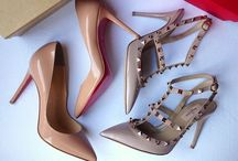 In Search Of The Perfect Pair Of Nude Heels / by Di Ap