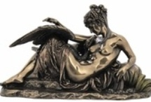 """Mythology for Gifts and Home / Mythology has given us some of the most unique sort of human things.  Some are beautiful, some are - shall we say - """"visually challenged.""""  But the make great additions to any home decor.  Here is a selection from our site.  / by Unique Gifts and Decor"""