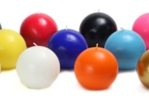 Ball Candles / Ball candles offer a contemporary touch to any décor, and make great centerpieces. Create warmth and a lovely glow with an arrangement of various sizes ball candles. As the ball candles burn, they seem to create warmer and warmer ambience as the globe starts to glow. Enjoy scented and unscented ball candles, at great prices, with size ranging from 2 to 4 inch diameter. Our ball candles are 100% hand poured and smokeless. Create an arrangement of ball candles today from BeverlyHillsCandle.com.