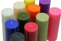 "Pillar Candles / Our Pillar Candles, as with all of our candle styles, come in a wide array of vivid colors, shapes, sizes and finishes, even scrolls and metallics! Available in round and square, pillar sizes range from 3"" to 9"" tall. They are 100% hand poured w/lead-free cotton wicks, making our pillars burn clean and smoke free, and with the maximum burn time available. From elegant to everyday to holiday, enjoy our pillar candles at deep discounted prices. View the Pins and shop www.BeverlyHillsCandle.com."