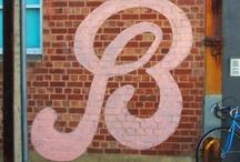 De letter B