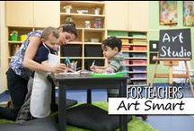 For Teachers: Art Smart / ArtSmart helps children develop an interest and appreciation of art, music, theater and dance, encouraging them to uncover their talents and express themselves artistically. We hope you like these ideas to inspire you!  Disclaimer: Some pins are not endorsed by Bright Horizons, but pinned as ideas worth sharing.