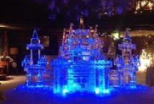 Large Ice Carvings / Large Ice Carvings