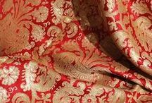FABRICS EMBROIDERIES AND COLOURS / by Mahvesh Jogezai