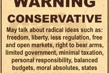 Conservative Values / by Lonnie McCoy