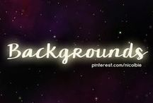 Backgrounds / Backgrounds for Designs / by Nicole DelVicario