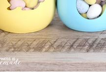 Easter Crafts / Fun Easter craft ideas to do with the kids!