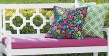 Garden Oasis / Transform your backyard, patio, or deck into an enchanted retreat with this selection of cheerful outdoor furniture and garden-ready accents. From love seats to flower boxes, this collection has what you need to create a beautiful, relaxing outdoor haven.