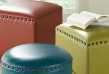 Outstanding Ottomans / Sit back, relax and kick your feet up onto our enjoyable ottomans! Big or small… we've got them all.