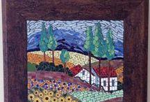Linky's Mosaic / Mosaic art