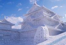 Sapporo la blanche / Au Nord, dans l'île de Hokkaido, se situe la ville de Sapporo, blanche en hiver, elle regorge de charmes en tout genre.