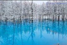 Sublime nature japonaise / Elle émerveille toujours avec ses décors que l'on croirait sorti tout droit d'un rêve, la nature japonaise.