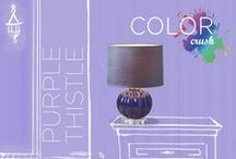Color Crush: Purple Thistle / Color Crush Contest – Purple Thistle: Penthouse Glam (end March 2014) / by Grandin Road