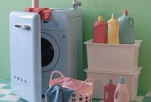 ❥ Clean Vs Dirty / laundry room
