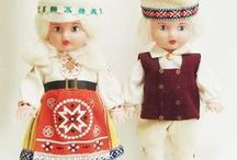 Estonian Folk costumes / by Ingrid Hansen