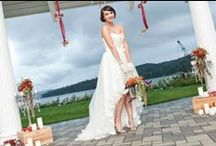 Simply Glamorous Wedding Inspiration / Prestige Oceanfront Resort in Sooke/Nichole Taylor Photography/Platinum Floral Design/Designer Weddings and Rentals/ma-luxe Studio Hair and Makeup/Victoria Bridal Boutique