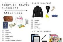 Conseils de voyages / Divers conseils pour le voyage en général