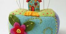 Pincushions / Super cute handmade pincushions