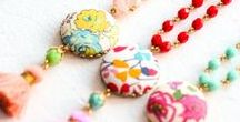 Jewelry / Handmade jewelry, colorful necklaces, jewelry tutorials, jewelry patterns