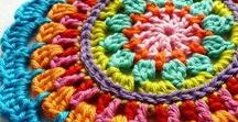 Crochet Love / All kind of crochet patterns and crochet tutorials, amazing crochet stuff, colorful crochet products