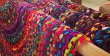 Rugs and carpets / Colorful rugs, beautiful carpets