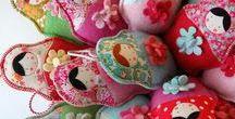 Matryoshka Love / Matryoshka love. All kind of handmade matryshka stuff.
