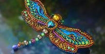 Beading ideas / Beading ideas, beading jewelry, beaded brooches