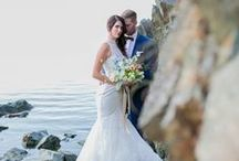Coastal Romance / Wedding Beauty by Sabrina Patrice Photography, Moores for Men, White Bridal Boutique, Raspberry Flowers, Artistry by Alexa, Conscious Hair by Elena, Tuktu Paper Co.