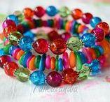MY JEWELRY / Boho jewelry, beaded necklaces and bead earrings, crochet jewelry, memory wire bracelets, glass bead earrings