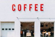 Coffee Shops / Lovely coffee shop design and coffee culture.
