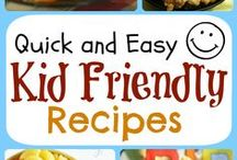 Recipes for kids / Food for Kids! Foods you can make with your children. Fun foods, recipes, foods kids can make by themselves.