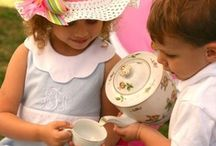 Tea Party / It's all about Tea and the beautiful dishes, flowers and children that go with tea party's.  / by Sheri Bryant