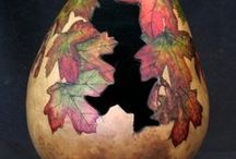 Gourd Artists Work / by Barbara Moore