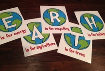 Earth Day Classroom Activities / Environmentally friendly ideas, initiatives and events.