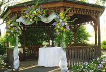 artistreEscapes GAZEBO DECOR Ideas / Check my sites or contact me:  http://www.artistreEscapes.com/facebook, www.artistreEscapes.com or email:  artistreEscapes@gmail.com. / by Kathy @artistreEscapes Island Garden Venue
