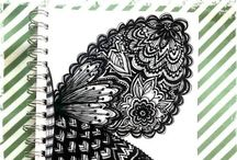 My Art Journal Pages / Just sharing some of my own journal pages