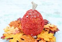 Thanksgiving Crafts, Printables & Gift Ideas / Kid-friendly Thanksgiving crafts, printables & gift ideas including decorations and hostess gift ideas. Make a corn mosaic, pine cone turkeys, painted pumpkin jars and fall leaf votives. For more holiday recipes and crafts, visit http://www.dixiecrystals.com/.