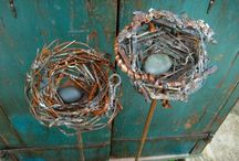 Wild wire ideas / More working with wire (non-jewelry) / by ArmyHippieChick