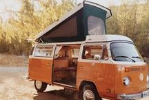 Caravans and trailers / by Kate Golding