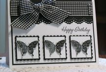 Cards - Stampin Up Butterfly Prints